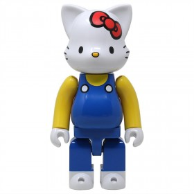 Medicom Hello Kitty 400% Nyabrick Figure (blue)