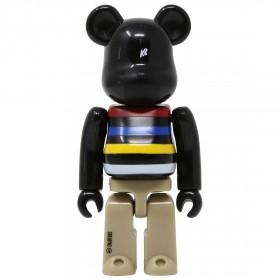 Medicom K2 Sports 100% Bearbrick Figure (black)