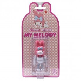 Medicom My Melody 100% Rabbrick Figure (pink)