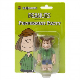 Medicom Peanuts Peppermint Patty 100% Bearbrick Figure (green)