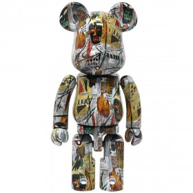 Medicom Super Alloyed Jean-Michel Basquiat 200% Bearbrick Figure (multi)