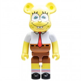 Medicom Nickelodeon SpongeBob SquarePants 1000% Bearbrick Figure (yellow)