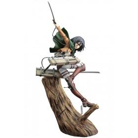 PREORDER - Kotobukiya ARTFX J Attack On Titan Mikasa Ackerman Renewal Package Ver. Figure (brown)