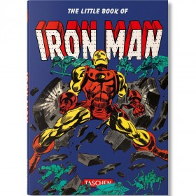 The Little Book Of Iron Man By Roy Thomas Book (blue / flexicover)