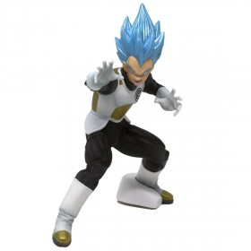 Banpresto Super Dragon Ball Heroes Transcendence Art Vol. 2 Super Saiyan Blue Vegeta Figure (blue)