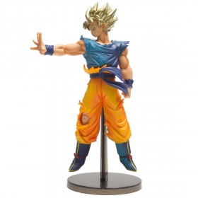 Banpresto Dragon Ball Z Blood Of Saiyans Special Ver. Super Saiyan Goku Figure (blue)