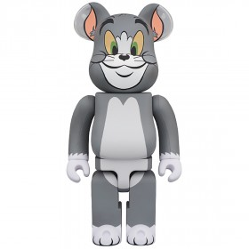PREORDER - Medicom Tom and Jerry - Tom 1000% Bearbrick Figure (gray)