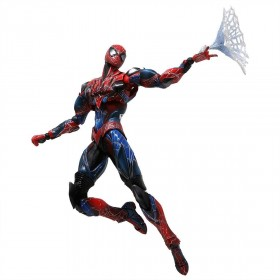 Square Enix Marvel Universe Variant Play Arts Kai Spider-Man Action Figure (red)