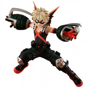 PREORDER - Good Smile Company Pop Up Parade My Hero Academia Katsuki Bakugo Hero Costume Ver. Figure (navy)