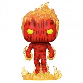 PREORDER - Funko Marvel Fantastic Four Human Torch (red)