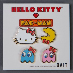 BAIT x Sanrio x Pac-Man Hello Kitty Pac-Man Ghosts 4 Pins Set (multi)