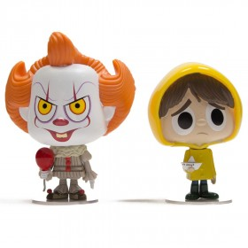 Funko Vynl It - Pennywise And Georgie (white / yellow)
