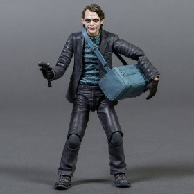 Medicom Batman The Dark Knight Joker PX MAFEX Action Figure - Bank Robber Version (gray)
