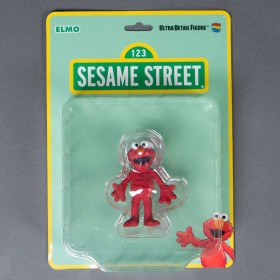 Medicom UDF Sesame Street Elmo Ultra Detail Figure (red)