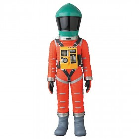 PREORDER - Medicom VCD 2001 A Space Odyssey Space Suit Green Helmet Orange Suit Ver. Figure (green / orange)