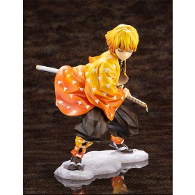 PREORDER - Kotobukiya ARTFX J Demon Slayer Zenitsu Agatsuma Statue (orange)
