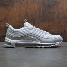 5b9729ddc3 Nike Men Air Max 97 Premium QS (light bone / summit white-summit white)
