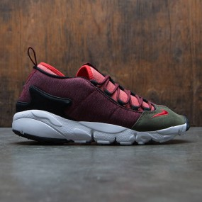 finest selection a54b9 fcb20 Nike Men Air Footscape Nm (dark team red   rush red-dragon red)
