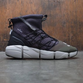 a261237ff6f4 Nike Men Air Footscape Mid Utility (black   white-cargo khaki-light bone)