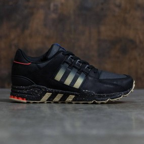 Adidas Consortium x HAL Men EQT Running Support 93 (black   core black    matte gold) 3ceefc6cd