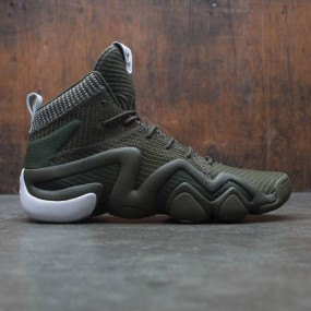 5072d116be96 Adidas Men Crazy 8 ADV Primeknit (olive   night cargo   footwear white)
