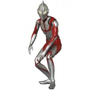 Medicom MAFEX Shin Ultraman - Ultraman Figure (silver)
