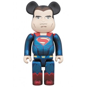 Medicom Superman 1000% Bearbrick Figure - Batman vs Superman (blue)