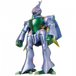 PREORDER - Medicom Aura Battler Dunbine Giant Dunbine Metallic Color Ver. Sofubi Figure (purple)