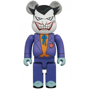 PREORDER - Medicom Joker Batman The Animated Series Version 1000% Bearbrick Figure (purple)