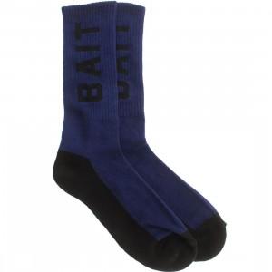 BAIT Logo Crew Socks (navy) 1S
