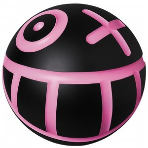 Medicom VCD Andre Saraiva Mr. A Ball Black W Size Figure (black / pink)