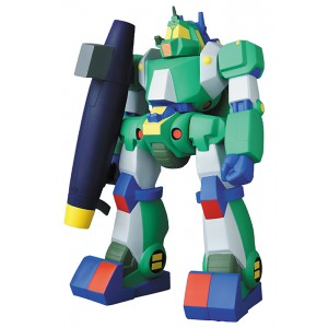 PREORDER - Medicom Combat Mecha Xabungle Walker Gallia Retro Toy Color Version Sofubi Figure (green)
