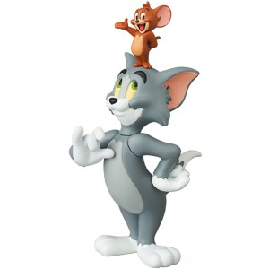 PREORDER - Medicom UDF Tom And Jerry - Jerry On Tom's Head Figure (gray)
