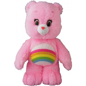 PREORDER - Medicom Care Bears Cheer Bear Plush (pink)