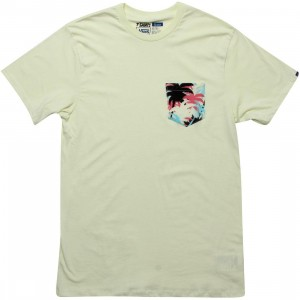 Vans Palm Camo Pocket Tee (green / luminary green)