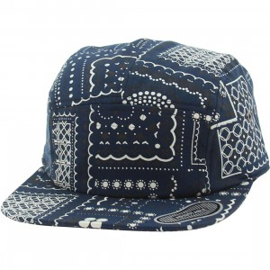Vans Telegraph Camper Adjustable Cap (navy / bandana)