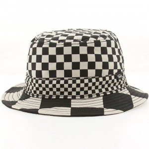 Vans Checker Bucket Hat (black / checker)