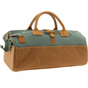 Vans Altos Duffel Bags (green / duck green / rubber)