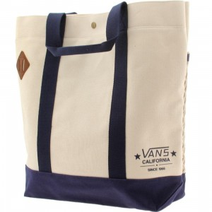 Vans Netted Tote Bag (natural / blue)