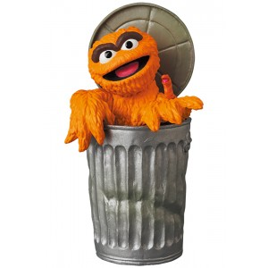 PREORDER - Medicom UDF Sesame Street Series 2 Oscar The Grouch The Original Orange Fur Ver. Figure (orange)