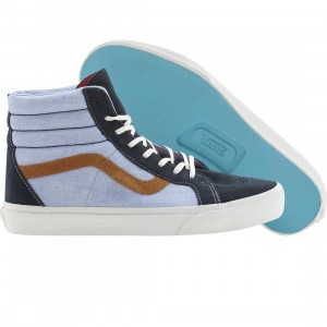 Vans Sk8-Hi Reissue CA C and P (blue / dress blues)