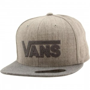 Vans Drop V Plus Snapback Cap (gray / heather)