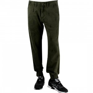 Vans Excerpt Chino Pegged Pant (green / forest night peyote)
