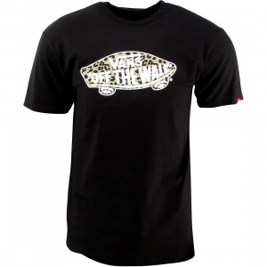 Vans Off The Wall Mixed Fill Tee (black)