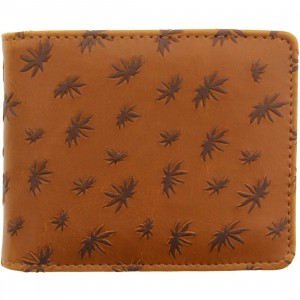Vans Peace Leaf Wallet (white / vintage natural)