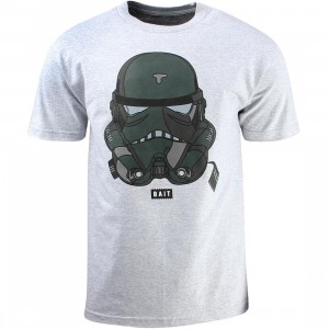 BAIT x David Flores Trooper Tee (gray / heather)