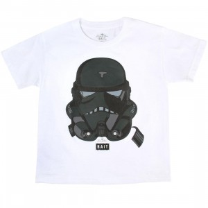 BAIT x David Flores Youth Trooper Tee (white)