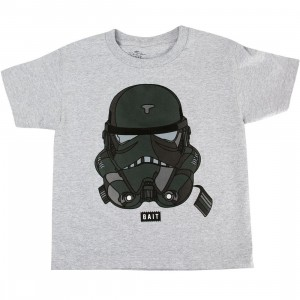 BAIT x David Flores Youth Trooper Tee (gray / heather)