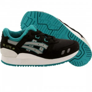Asics Tiger Little Kids Gel Lyte III PS (black / light gray)