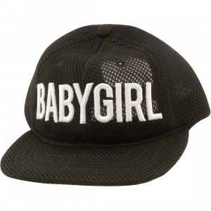 Dimepiece Babygirl Mesh 6 Panel Adjustable Cap (black)
